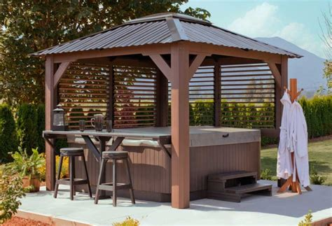 bamboo gazebo kit tub gazebo kits inkandcoda home bamboo gazebo
