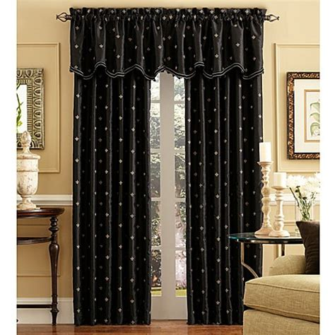 95 inch curtain rod buy celeste 95 inch rod pocket back tab window curtain