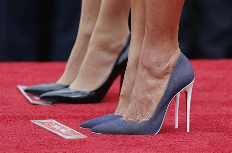 melania shoes melania debuts a new look that will the