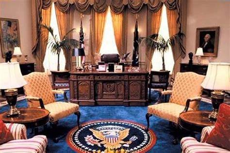 oval office decor through the years the tv west wing