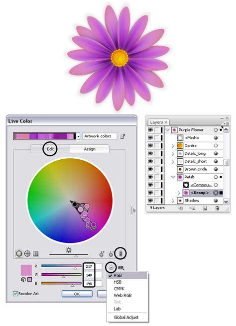 illustrator tutorial gradient mesh flower create simple flowers with gradient mesh in adobe illustrator