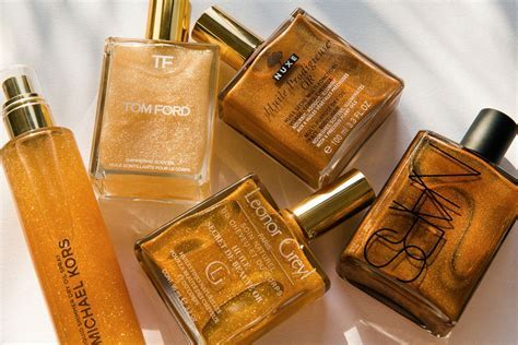 Five Of The Best Shimmer Body Oils For Summer   Makeup