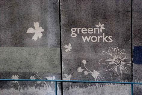reverse graffiti  art  clear  temporary