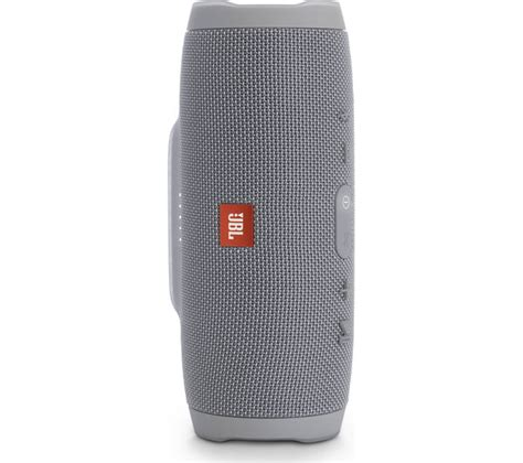 Jbl Charge 3 Wireless Portable Bluetooth Speaker buy jbl charge 3 portable bluetooth wireless speaker grey free delivery currys