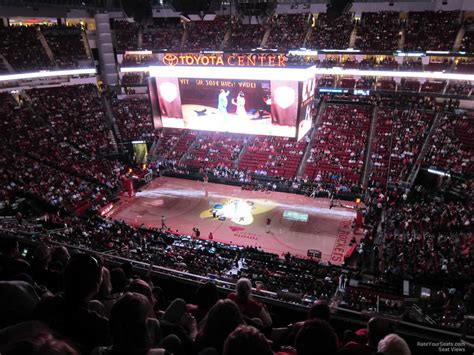 best seats at toyota center toyota center section 425 houston rockets