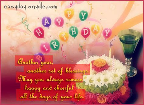 birthday wishes messages and greetings easyday