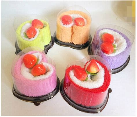 creative swiss roll towel cake towel 20 20cm