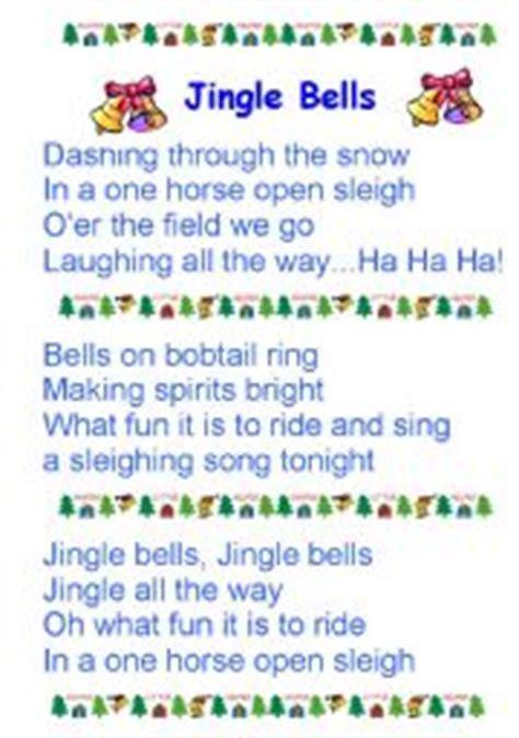 printable lyrics jingle bells esl kids worksheets jingle bells