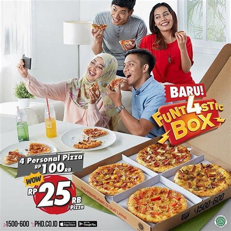 domino pizza malang 4 personal pizza cuma rp 100rb juli 2017 exponesia