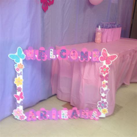 Baby Shower Photo Booth Ideas by Picture Frame For Baby Shower Photo Booth