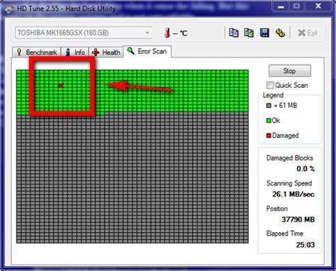 Harddisk Bad Sector Diagnosing A Computer