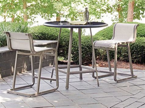 bahama outdoor dining set bahama outdoor mar cast aluminum counter dining