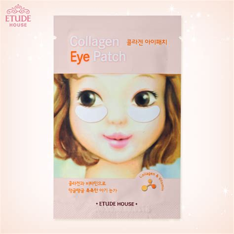 Etude House Collagen Eye Patch favorite asian products for tired cynthia