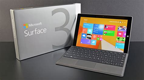 Microsoft Surface 3 microsoft surface 3 type cover unboxing review