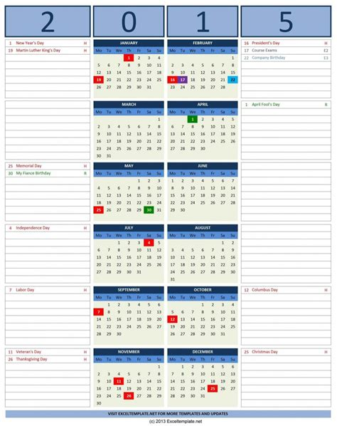 2015 Calendar Templates Microsoft And Open Office Templates 2015 Calendar Office Template