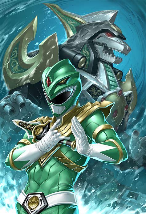 dragonzord tattoo dragonzord rise slick green ranger art by quirkilicious