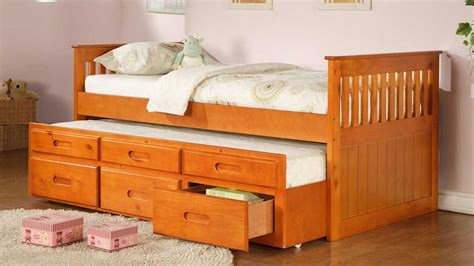 oak captains bed int if314 captain bed furtado furniture