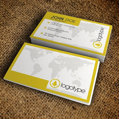 premium business card templates corporate yellow business card premium business card