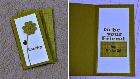Handmade With St - handmade st patricks day cards that are simple to make