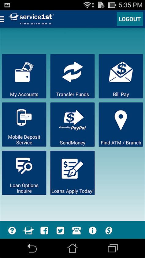 mobile banking service service 1st mobile banking android apps on play