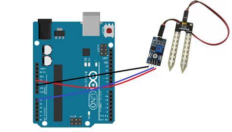 arduino code moisture sensor arduino and soil moisture sensor interfacing tutorial