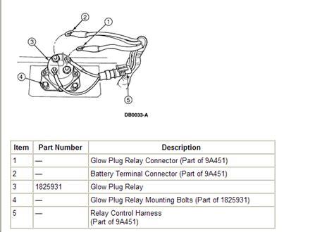 2000 7 3 powerstroke glow plug relay wiring 97 7 3 glow plug wiring diagram 97 get free image about wiring diagram