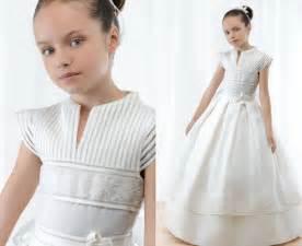 Cu 225 l de estos vestidos de primera comuni 243 n es vuestro preferido