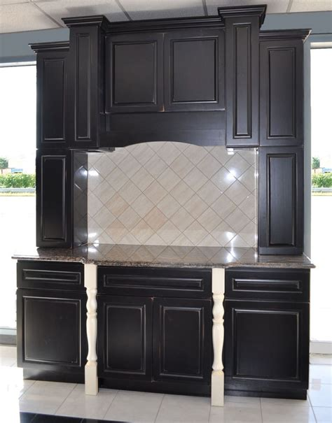 Showroom Kitchen Cabinets For Sale Showroom Black Kitchen Cabinets For Sale 2300 Island Ny Ebay