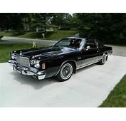 $5000 Black Beauty 1975 Chrysler Cordoba