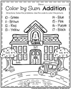 back to school first grade worksheets planning playtime