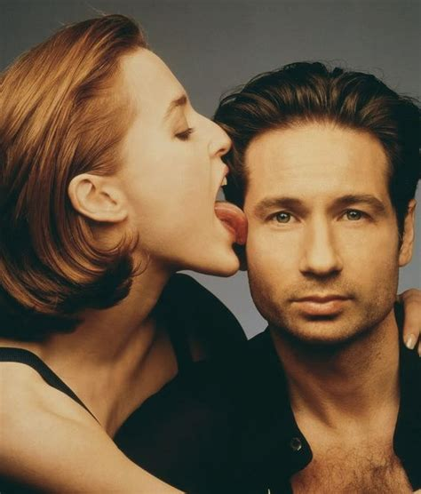 Oh That David Duchovny by David Duchovny And Gillian Photoshoot