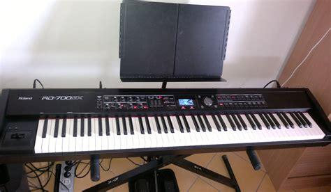 Keyboard Roland Rd 700gx roland rd 700gx image 273580 audiofanzine