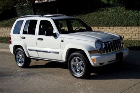 jeep liberty rust purchase used 2005 jeep liberty limited 3 7l v6 leather