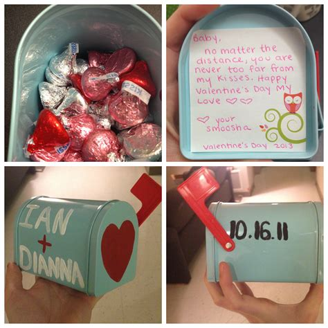 distance relationship valentines day gifts for him s day mailbox gift for distance