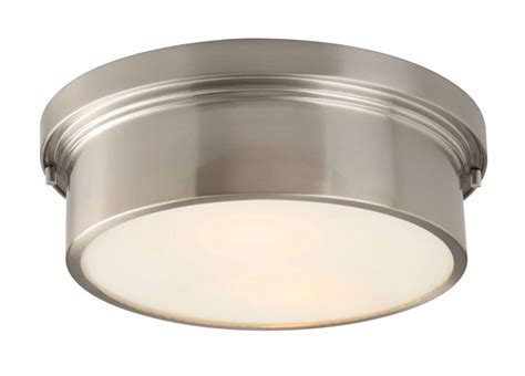 hton bay oxnard 2 light flush mount the home depot canada