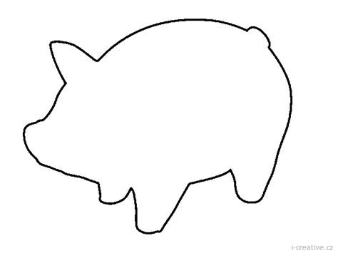 pig template for preschoolers search on