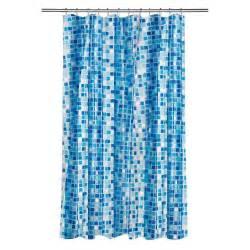 croydex shower curtain in mosaic blue ae543424yw the