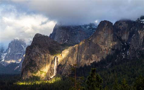 Home Design 3d Mac Os X hd background yosemite national park mountains fog nature