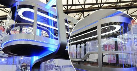 pay light rail fine online futuristic blade runner style tram to launch in shanghai