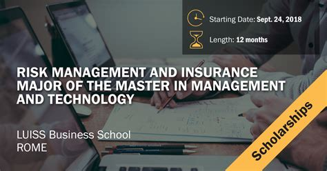 Mba With Risk Management And Insurance by 10 Scholarships For The Master In Risk Management And