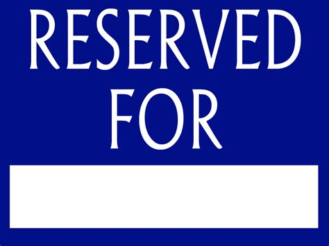 reserved parking template reserved parking template pictures to pin on