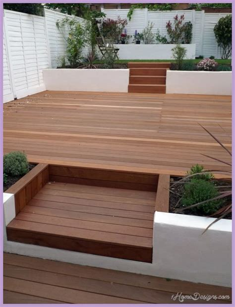 Decking Ideas For Small Gardens 10 Decking Design Ideas For Small Gardens 1homedesigns