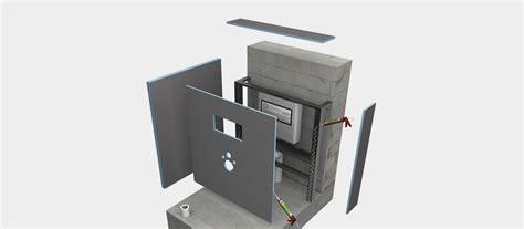 Wedi Bauplatten Decke by Wc Vorwandinstallation Wedi De