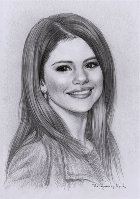 Draw 3d Online selena gomez sketch picture by cuteeprincess321 drawingnow