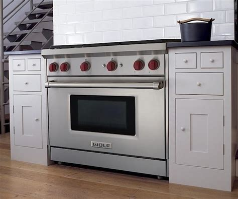 stoves wolf stoves a perfect pairing sub zero s french door refrigerator and wolf s new gas range remodelista