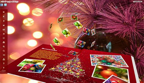 christmas themes ltd download free christmas style for flipbook 3d theme by 3d