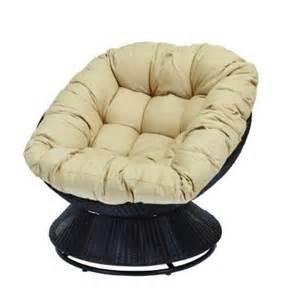 hton bay papasan patio chair with cushion