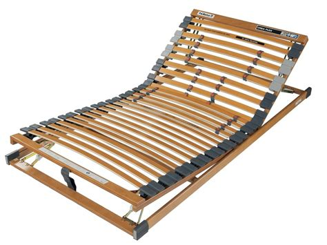 Slat Adjustable Bed Frame Crea Flex Base Frames Collection Slatted Bed Frame
