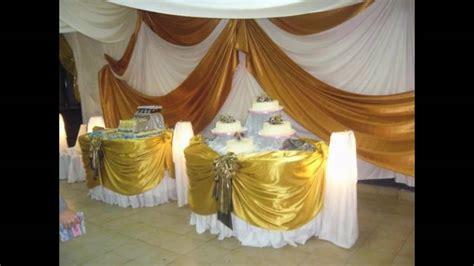 ideas para decorar un salon con telas c 243 mo decorar los salones de fiesta con telas youtube