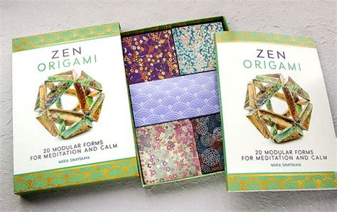 Origami Zen - zen origami 20 modular forms for meditation and calm by